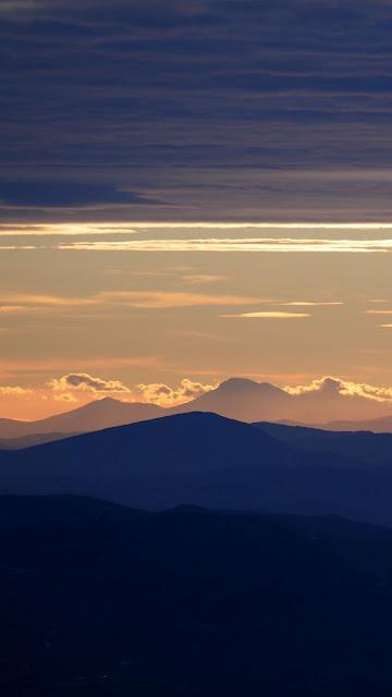 HD Wallpaper Mountains, Sunset, Sky, Landscape