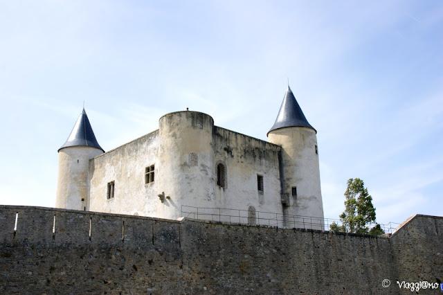 Il castello feudale di Noirmoutier en Ile