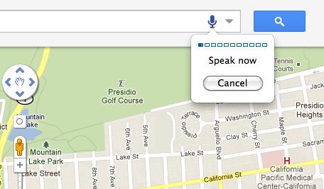 Google Maps Mikrofon