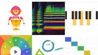 Esperimenti di musica interattiva da suonare in Google Music Lab