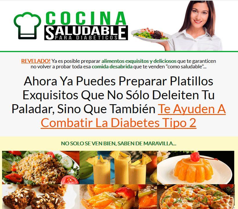 libro de alimentación saludable para la diabetes