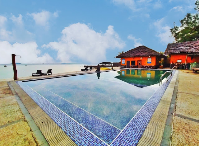 Area Kolam Renang Bintan Spa Villa