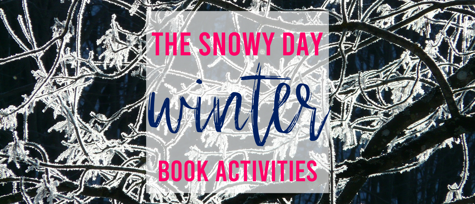 The Snowy Day book study companion activities with class book and craftivity K-1