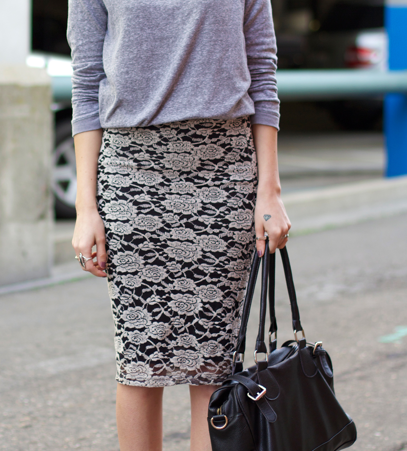 grey-sweater-lace-skirt