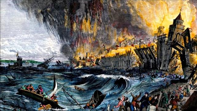 O terremoto de Lisboa foi a primeira e até agora maior catástrofe natural europeia devidamente registrada