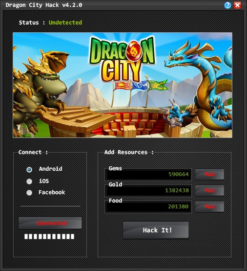 Dragon City Hack Tool 2016 | 100% Working | Download