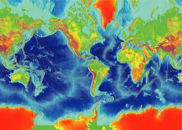 نبذة تاريخية عن ظواهر سطح الأرض