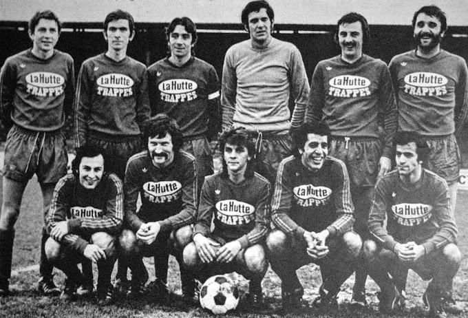 L'équipe du dimanche après-midi. E.S.C TRAPPES 1974-75.