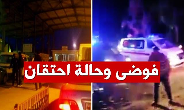 فوضى وحالة احتقان في معبر راس جدير بعد قرار السلطات الليبية غلق الحدود