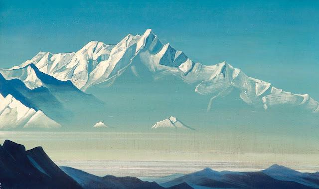 Николай Рерих - Гора пяти сокровищ (Два мира)