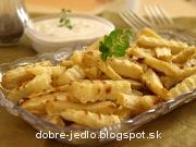 Paštrnákové hranolky s orechovo-jogurtovým dipom - recept
