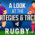 A Look at the Strategies and Tactics of Rugby #infographic