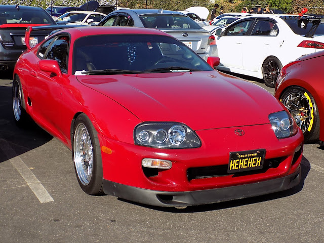 Toyota Supra at Team District 10's Annual Car Show & Breast Cancer Fundraiser.