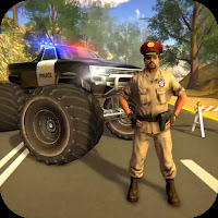 Police Truck Gangster Car Chase Mod Apk (Free In-App / Unlockable Levels, Characters, Vehicles, Guns)