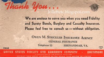 Owen Strickler insurance ad https://jollettetc.blogspot.com