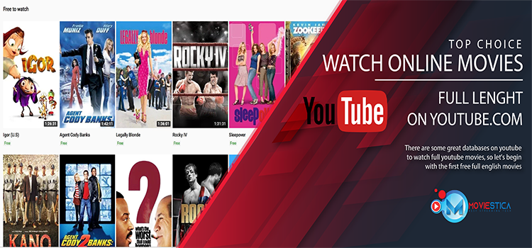 Free Youtube Movies to Watch in Full Lenght