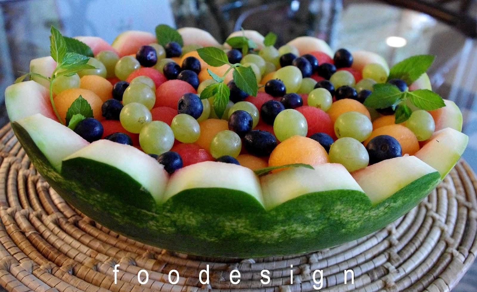 Foodesign Fresh Fruit Basket