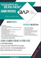 Open Recruitment at PT. Bina Area Persada Surabaya September 2021