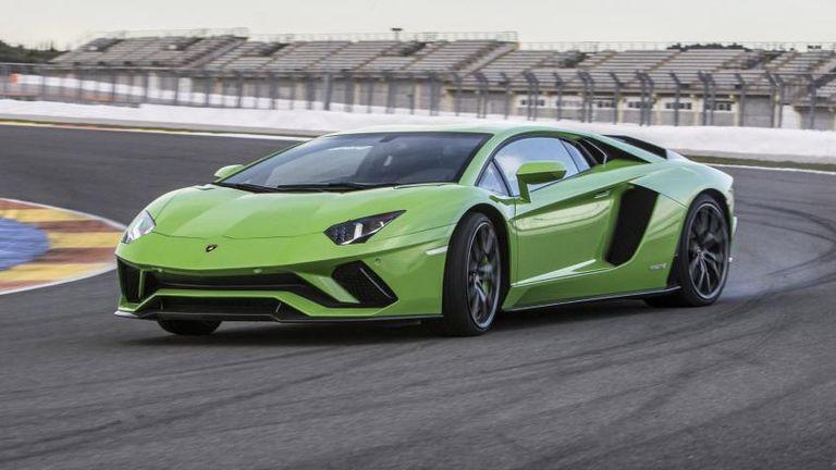 طراز Lamborghini Aventador S