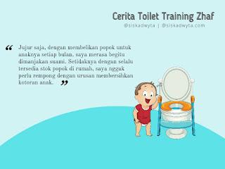 Proses toilet training