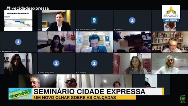 Seminário Cidade Expressa discutiu calçadas e ações de mobilidade humana em Campina Grande