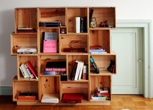 7 AWESOME IDEAS TO CREATE YOUR OWN SHELVES