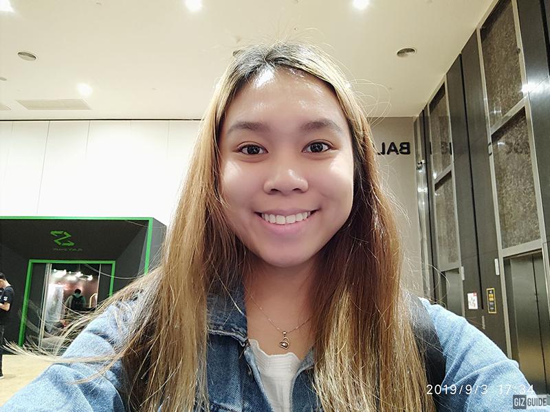 Indoor selfie (Beautified)