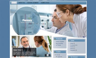 Pharmacy Blogger Template