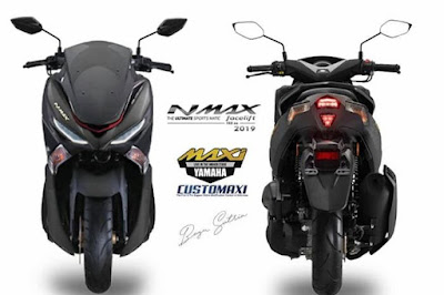 Sepeda Motor Nmax terbaru 2019