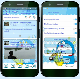 BBM Doraemon v3.2.2.8 Apk