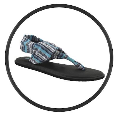 Sanuk Yoga Sling II Print Women's Flip Flops