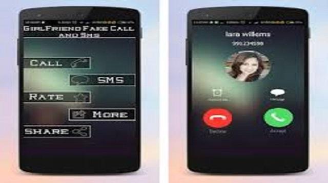 Fake SMS Girlfriend Joke