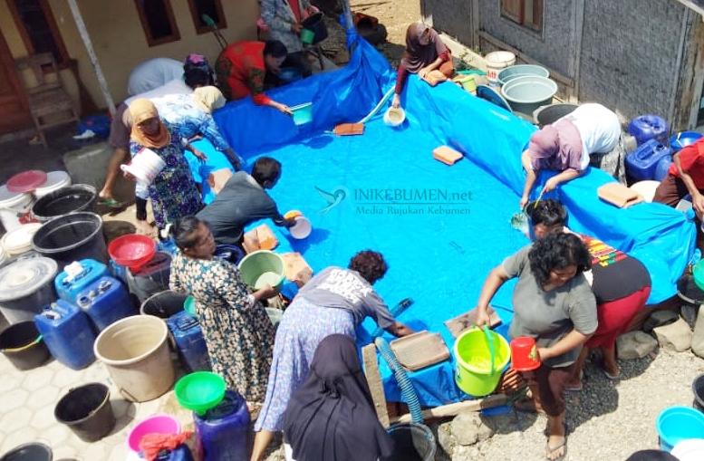 Kekeringan Makin Parah, Kebutuhan Air Bersih 34.549 Jiwa Penduduk Kebumen Andalkan Bantuan