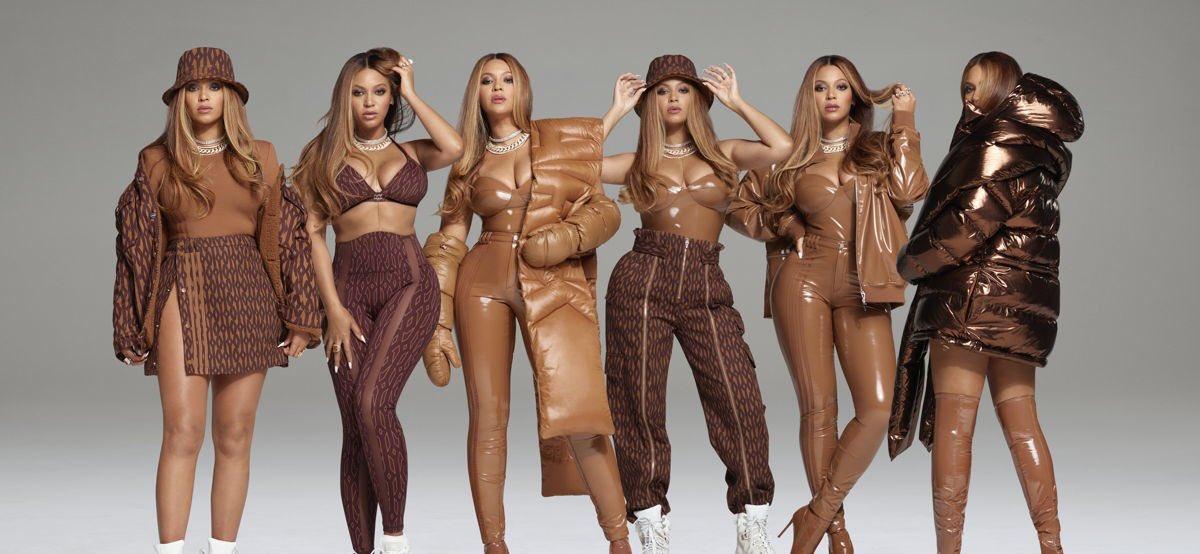 Beyoncé unveils her latest fashion lines .. ICYPARK .. photos