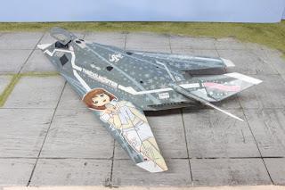 F-117A The Idolmaster 1/48.