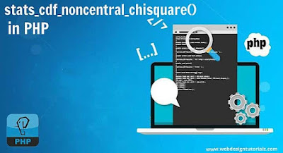 PHP stats_cdf_noncentral_chisquare() Function