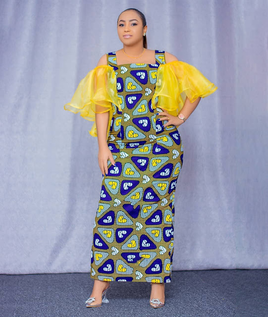 The 20 Best of Owambe Aso Ebi Dresses 23