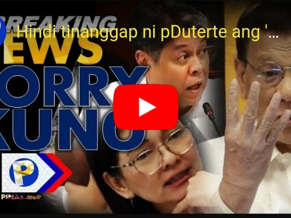 SORRY REFUND ng ABS-CBN hindi tinanggap ni Duterte, Karma sa Bias