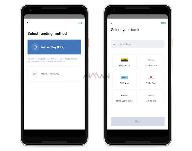 Cara Deposit Guna FPX (Online Banking)