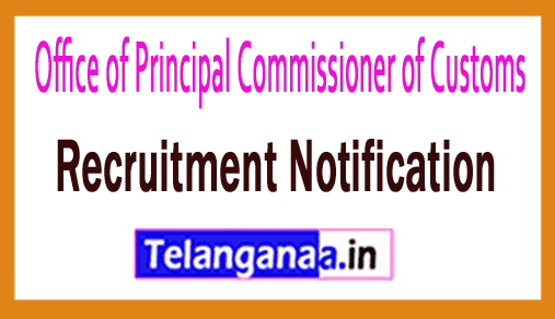 Office of Principal Commissioner of Customs Recruitment