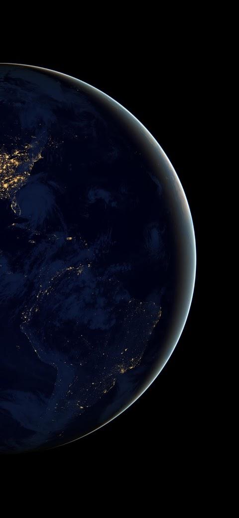 earth wallpaper iphone x