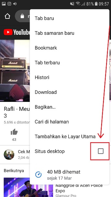 Cara Agar Youtube Tetap Berjalan Saat Layar Mati Musdeoranje Net