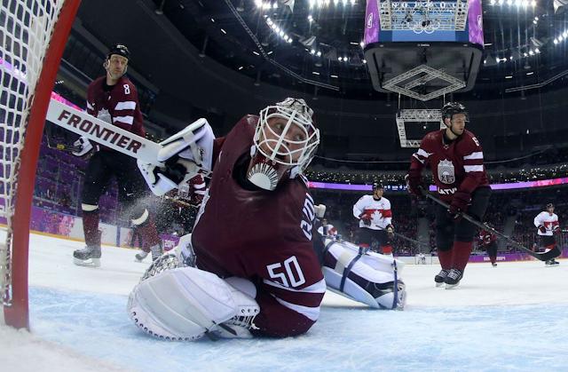 Форма сборной Латвии по хоккею на Олимпиаде в Сочи 2014