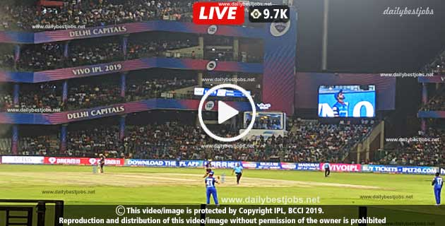 IPL 2019 DC Vs MI Live Score 34th T20 Cricket Match