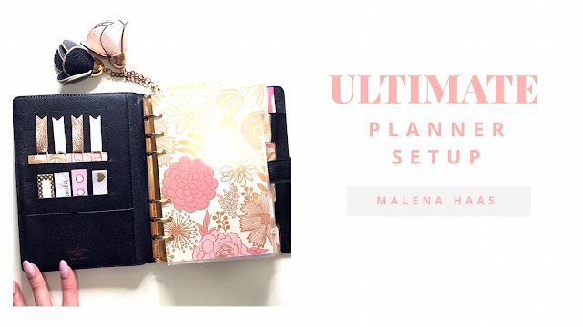 Ultimate Planner Peace - Updated Setup in Louis Vuitton MM Agenda