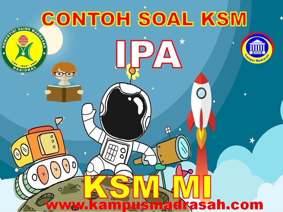 Soal KSM Mapel IPA