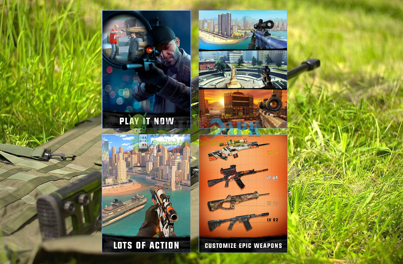 Sniper 3D Assassin Gun Shooter Mod Apk v1.17.6
