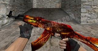 Skin AK 47 - Lycanthrope - HD CS 1.6