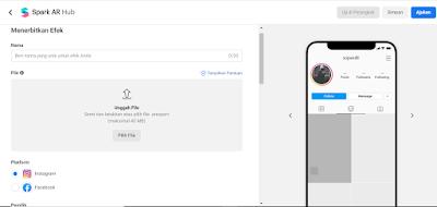 Cara upload filter buatan sendiri di spark ar