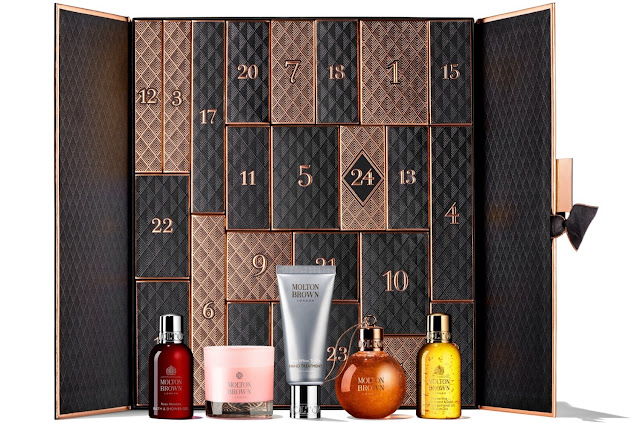 Molton Brown Advent Calendar 2019 - Full contents reveal
